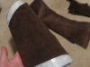 Adding Suede to Gauntlets