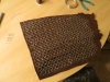 Finished Chainmail Flap