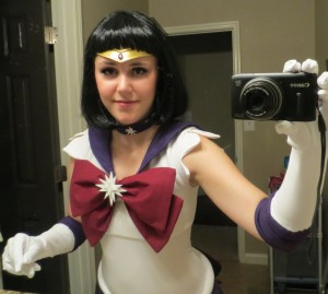 Sailor Saturn Costume Closeup