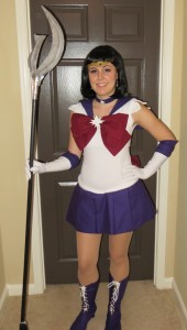 Sailor Saturn Costume Front