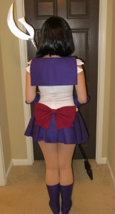Sailor Saturn Costume Back