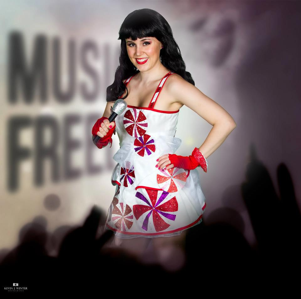 Katy Perry Peppermint Dress Costume