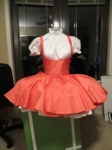 sakura pink dress