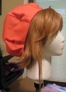 sakura wig and hat