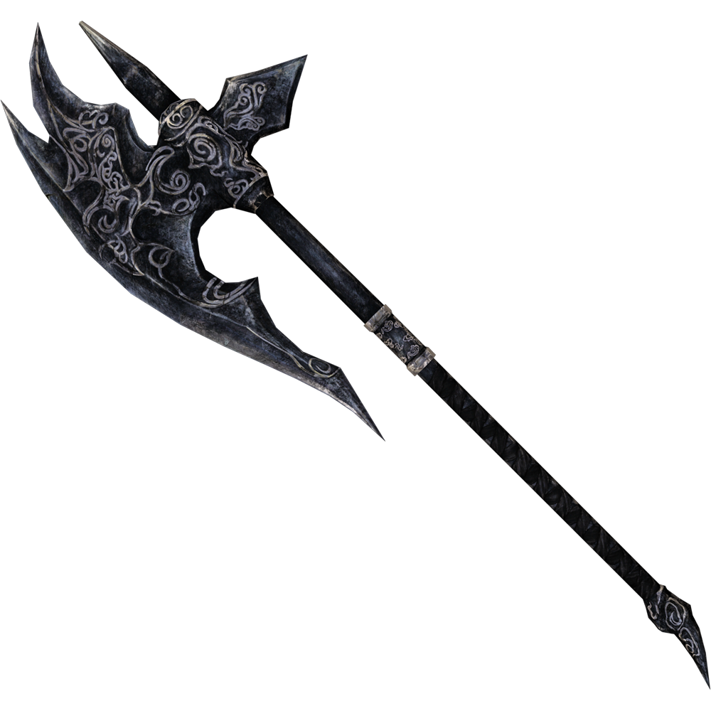 Ebony Battle Axe
