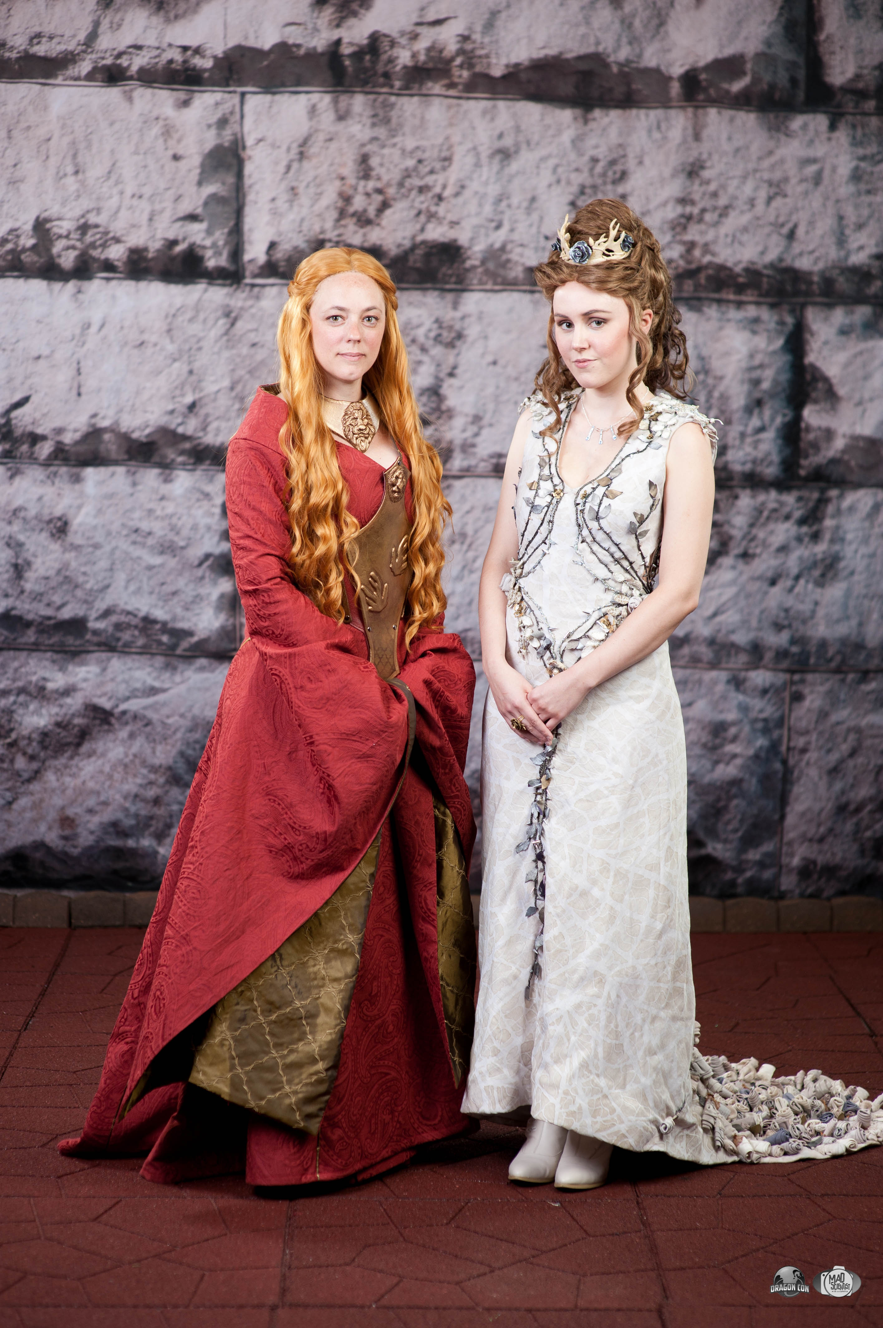 Margaery Tyrell Purple Wedding Dress & Cercei Lannister - Game of Thrones